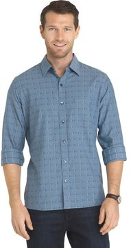 Van Heusen Big & Tall Untucked Slim-Fit Button-Down Shirt
