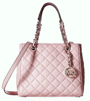 MICHAEL Michael Kors Susannah Quilted Blossom Leather Small Tote - BLOSSOM - STYLE