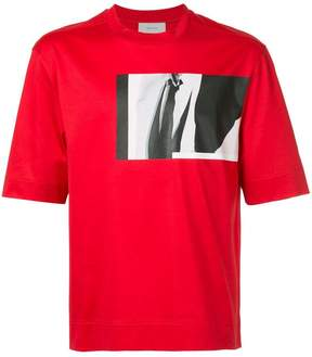 Cerruti photo-print T-shirt