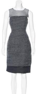 Andrew Gn Woven Sheath Dress