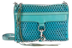 Rebecca Minkoff Leather M.A.C. Crossbody Bag - BLUE - STYLE