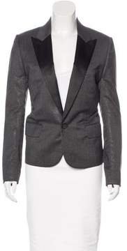 Christian Dior Metallic Wool Blazer