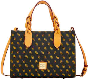 Dooney & Bourke Blakely Gia Satchel - BROWN TMORO - STYLE