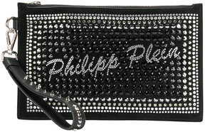 Philipp Plein embellished clutch