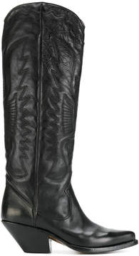 Buttero tall western boots