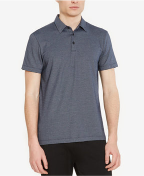 Kenneth Cole New York Men's Plaited Pique Polo