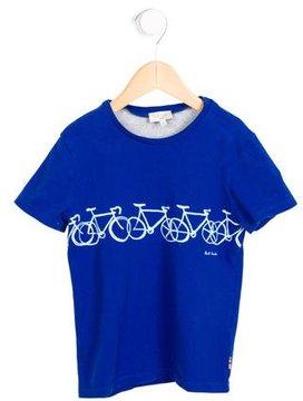 Paul Smith Boys' Bike Print T-Shirt