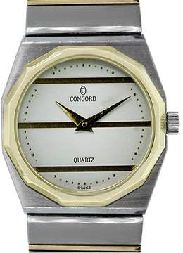 Concord Mariner 15 61 145v14 Two Tone 18K Yellow Gold & Stainless Steel Quartz 22mm Womens Watch