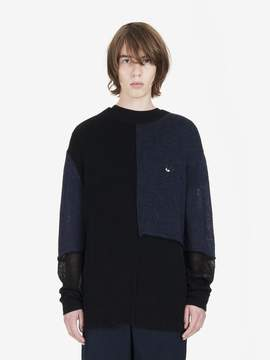 McQ Patched Color Block Sweater