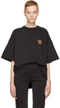 Yeezy Black Crest Logo Classic T-Shirt