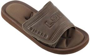 NCAA Men's LSU Tigers Memory Foam Slide Sandals