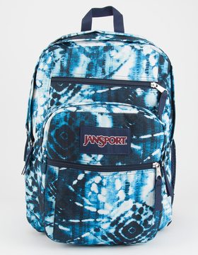 JanSport Indigo Shibori Big Student Backpack