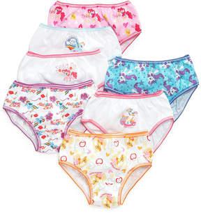 My Little Pony Cotton Underwear, 7-Pack, Little Girls (4-6X) & Big Girls (7-16)