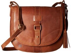 Born Distressed Leather Saddle Bag
