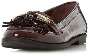 Head Over Heels *Head Over Heels By Dune Gigli' Burgandy Flat Loafers