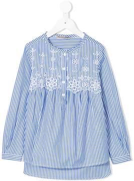 Ermanno Scervino embroidered floral shirt