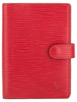 Louis Vuitton Castillian Red Epi Leather Agenda PM Cover - RED - STYLE
