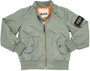 Molo Lightly Padded Nylon Bomber Jacket