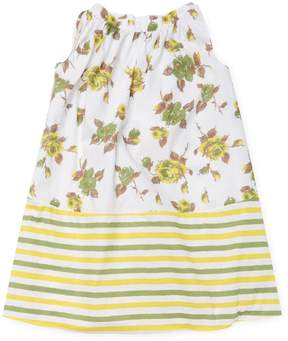 Marni Floral and Stripes Dress