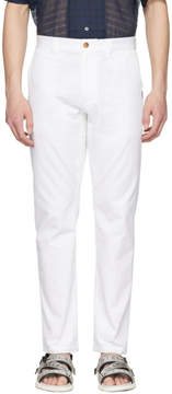 MSGM White Trousers