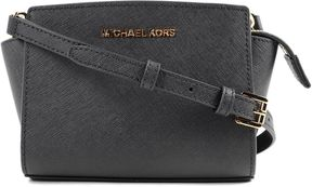 Michael Kors Mini Selma Shoulder Bag - BLACK - STYLE