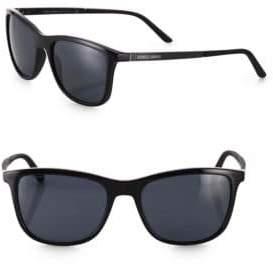 Giorgio Armani 56mm Square Sunglasses