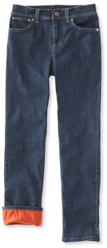 L.L. Bean Boys' Performance Stretch Jeans, Lined