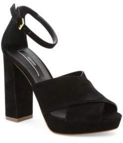 Kensie Poliana Suede Dress Sandals