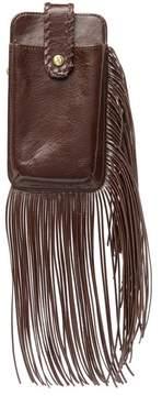 Hobo Plume Leather Wristlet