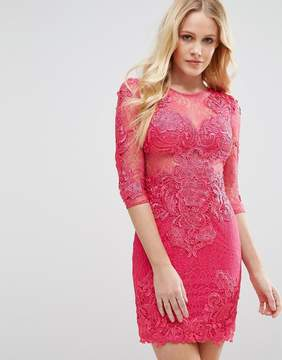 Forever Unique All Over Lace Dress