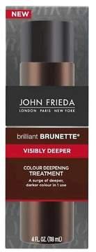 John Frieda ; Brilliant Brunette®; Visibly Deeper; Colour Deepening Treatment - 4 fl oz
