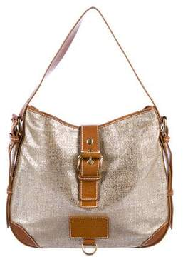 Marc Jacobs Metallic Canvas Hobo