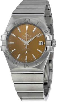 Omega Constellation Co-Axial Bronze Dial 35 mm Men's Watch
