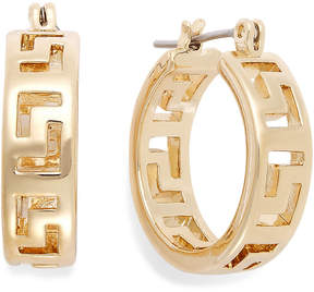 Charter Club Greek Key Small Hoop Earrings