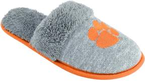 NCAA Women's Clemson Tigers Sherpa-Lined Clog Slippers