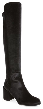 Stuart Weitzman Women's Lowjack Over The Knee Stretch Velvet Boot