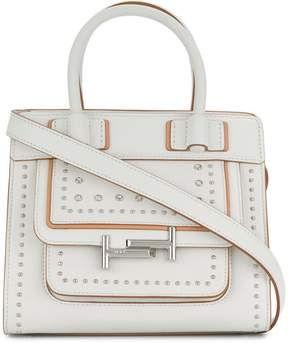 Tod's Double T studded crossbody bag