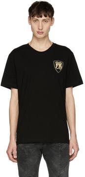 Pierre Balmain Black Crest Logo T-Shirt