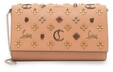 Christian Louboutin Paloma Convertible Studded Leather Clutch