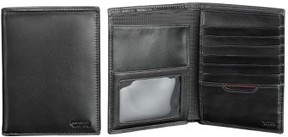 Tumi Men's Delta Passport Case - Black