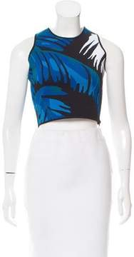 Timo Weiland Sleeveless Knit Crop Top