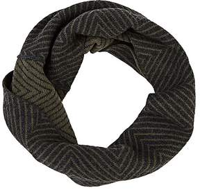 Barneys New York WOMEN'S CHEVRON-PATTERN WOOL-CASHMERE TWISTED SNOOD