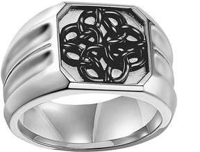 Triton Axl By AXL by Stainless Steel Celtic Knot Ring - Men