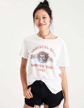 American Eagle Outfitters Grateful Dead Tour Graphic T-Shirt