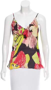 Christian Lacroix Abstract Print Silk Top