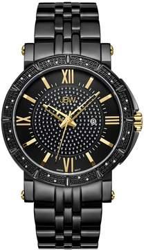 JBW Vault Black Ion-Plated Diamond Men's Watch J6343D