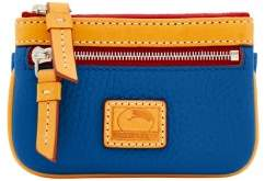 Dooney & Bourke Patterson Leather Small Coin Case - MARINE - STYLE
