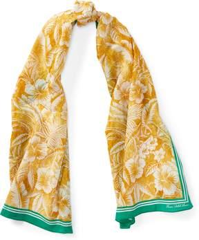 Ralph Lauren Tropical Cotton-Blend Scarf