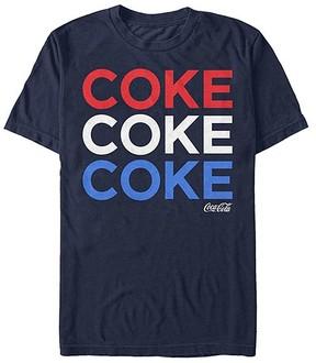 Fifth Sun Navy Coca-Cola 'Coke' Tee - Men