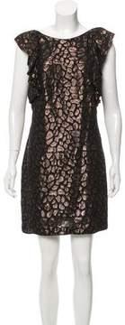 Camilla And Marc Silk Metallic Dress